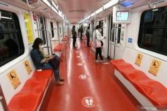 Semnalistică transport în comun_vagon metrou