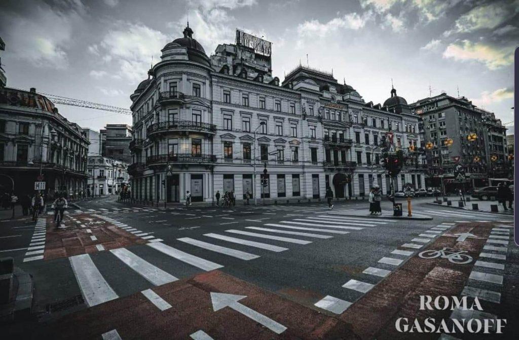 Una dintre cele mai frumoase intersecții din București