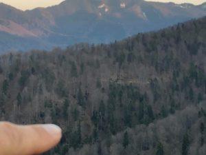 Drum de TAF pentru o viitoare exploatare la altitudine de 850 metri. Brașov.
