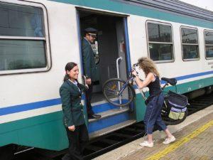 Cu bicicleta în Intercity-urile din Italia